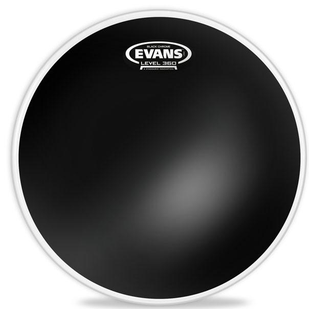 Evans 10인치 G2 Black Chrome Tom(상피) TT10CHR
